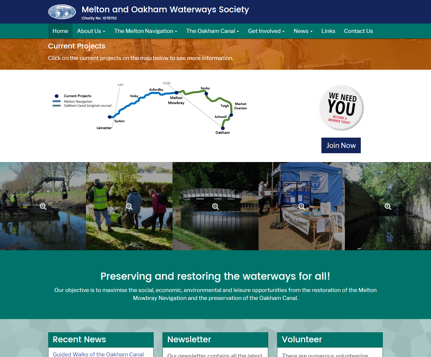 Melton and Oakham Waterways Society